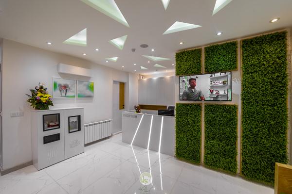 سالن انتظار-نگاهی به امکانات مطب جدید دکتر کاوسی