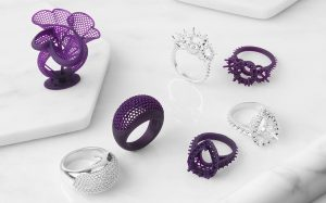 نمونه وکس آپ انجام شده با پرینتر سه بعدی در صنعت جواهرسازی
